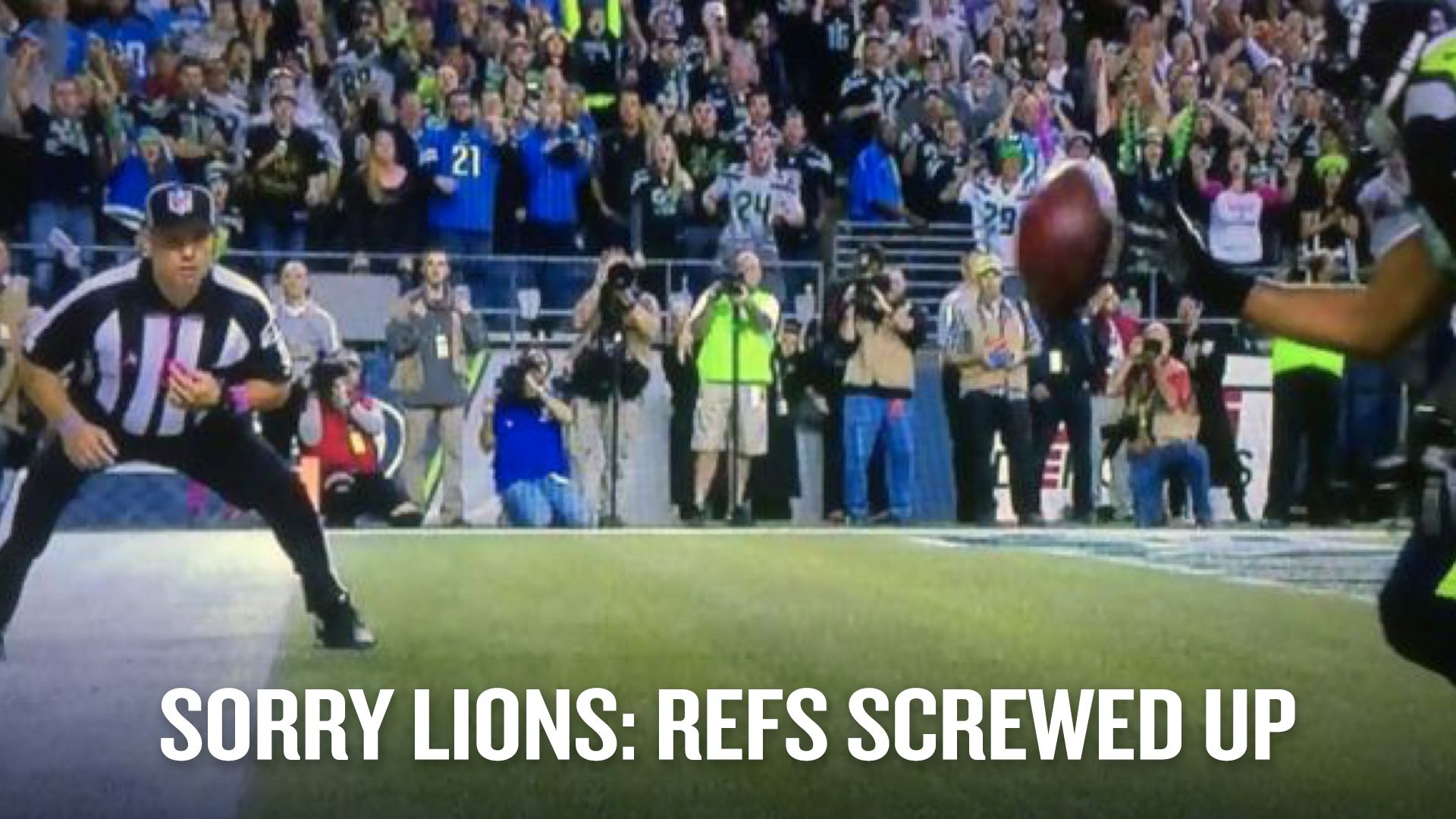 NFL head of officials said referees ruled incorrectly on illegal bat in Seahawks-Lions