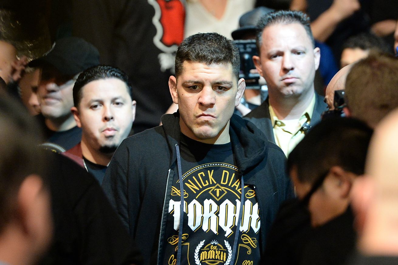 community news, Video: Nick Diaz gets into heated argument with USADA rep because he just wants to go to sleep