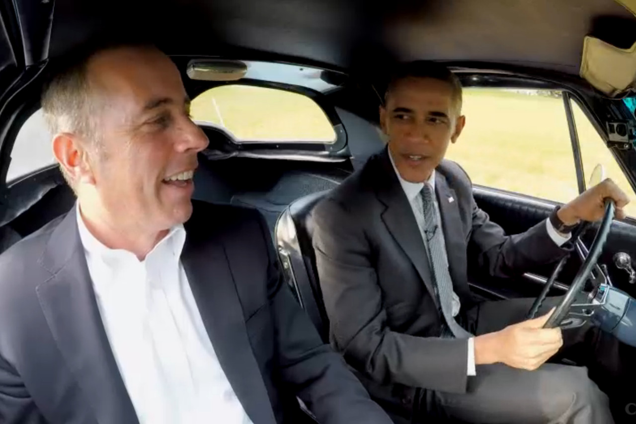 Commedians In Cars: Watch President Obama's Episode Of Comedians In Cars