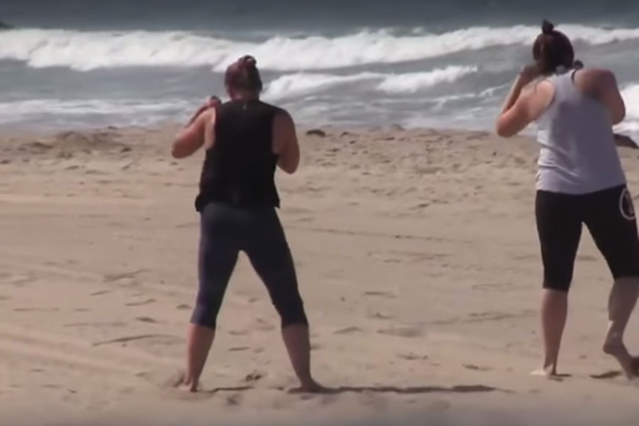 community news, Cris Cyborg: Ronda Rousey was shadowboxing on the beach    and her shadow won