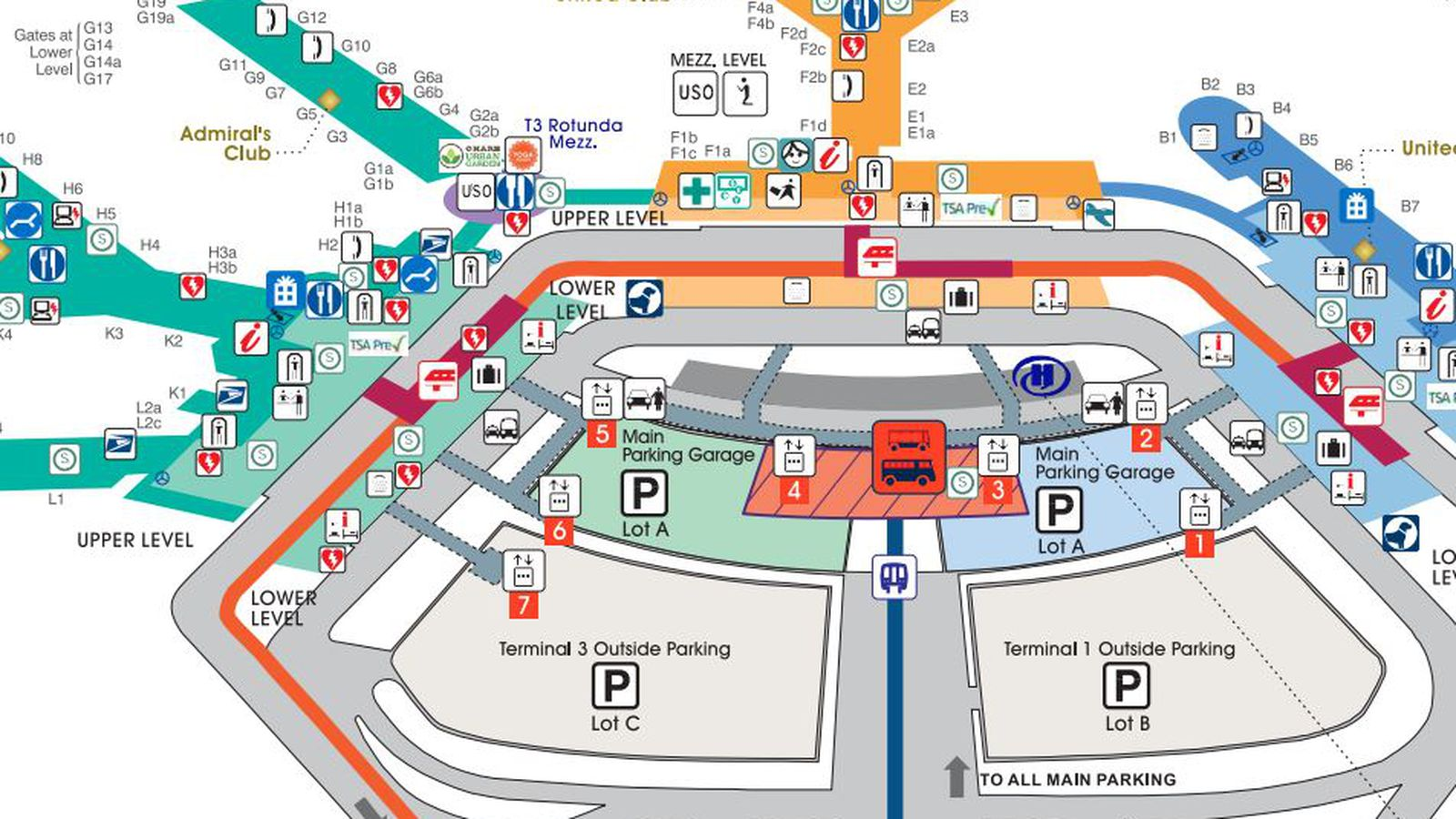o hare gate map with Where To Eat At Ohare International Airport Ord on 5008 as well 1045353 also Flights likewise 1715979 Aa Guide Ord Chicago O Hare Int L Airport Mct Etc 26 as well Index.