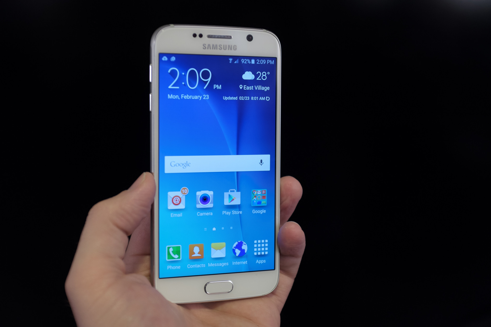 Water enlivened Samsung's configuration for Galaxy S6, S6 Edge - Ezy4Gadgets