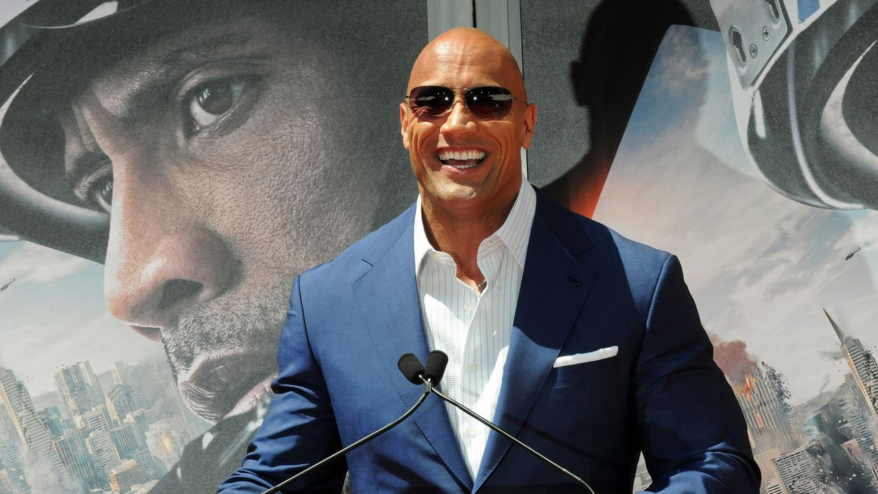 the rock will star in the film adaptation of the rampage. Black Bedroom Furniture Sets. Home Design Ideas
