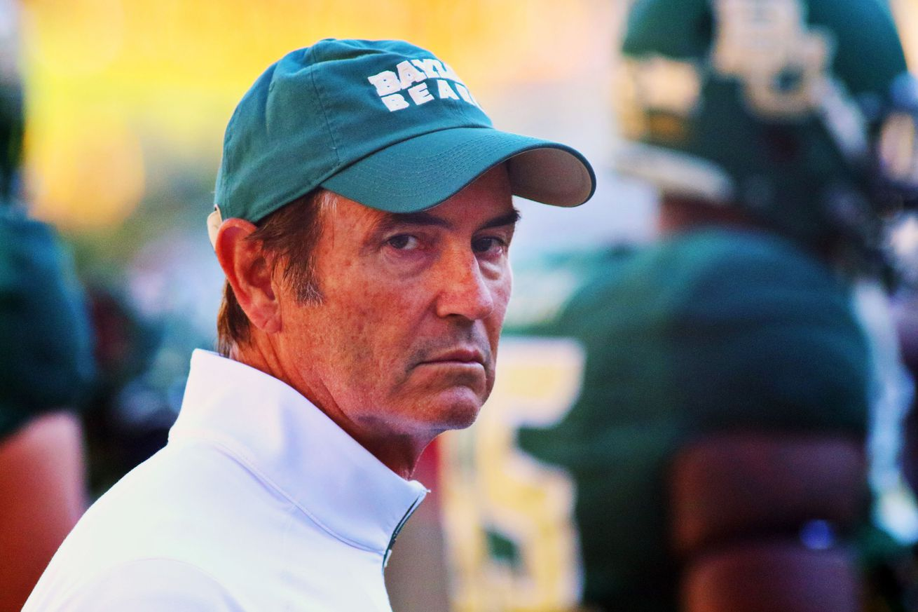 Jerry Jones: I'd want my grandson to play for Art Briles