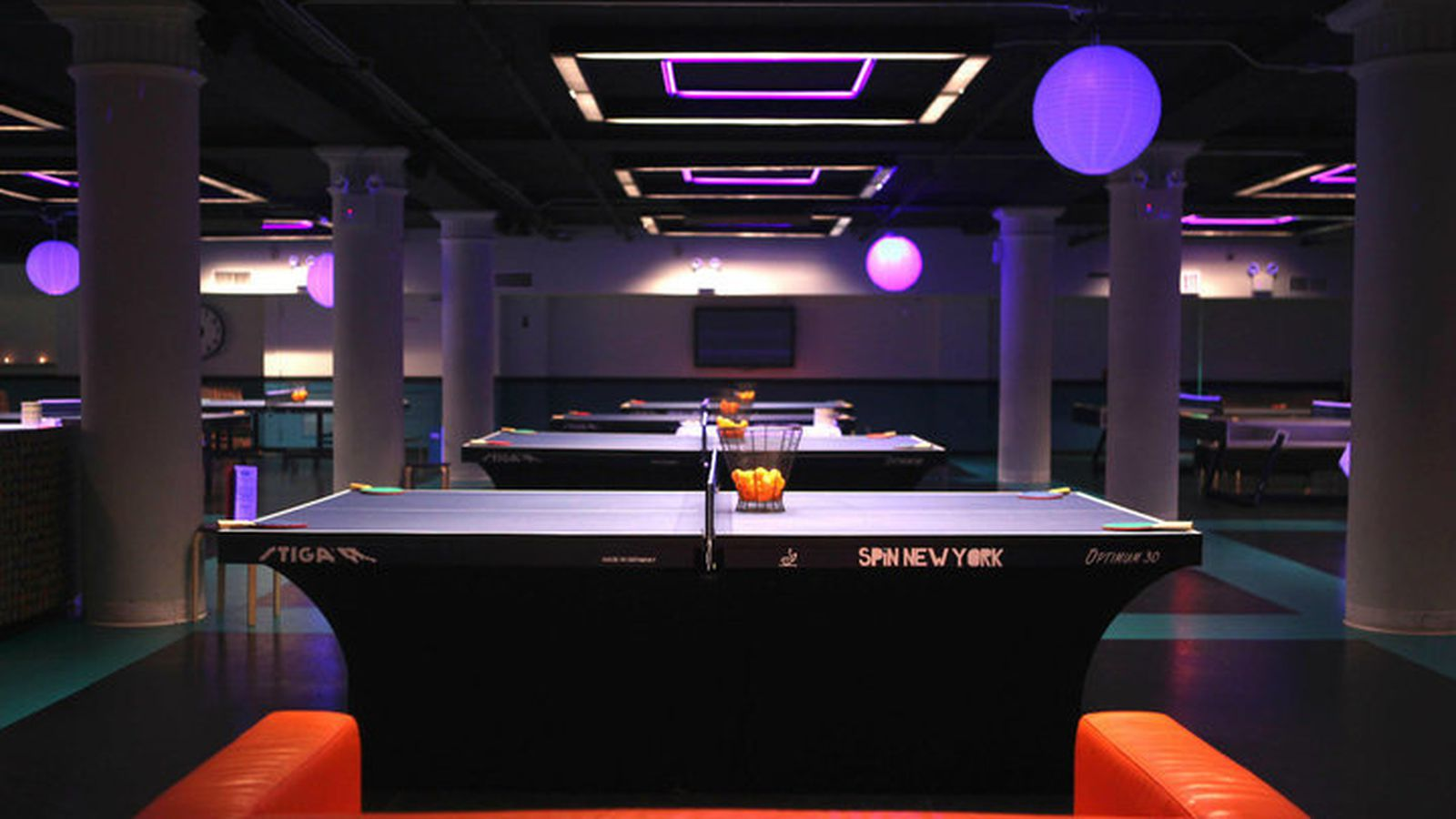 susan sarandon 39 s spin bar restaurant bringing ping pong to river north eater chicago. Black Bedroom Furniture Sets. Home Design Ideas