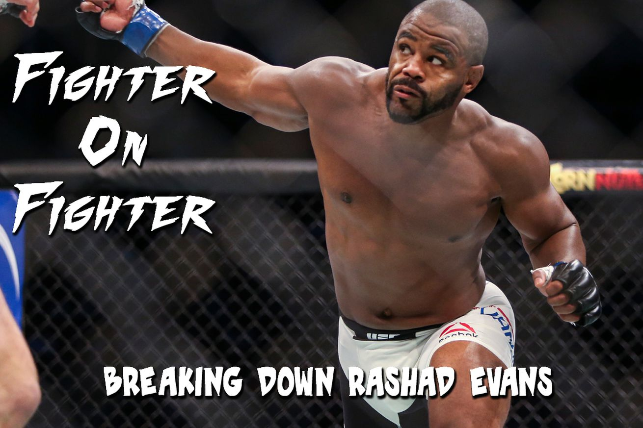 Fighter on Fighter: Breaking down UFC on FOX 19s Rashad Evans