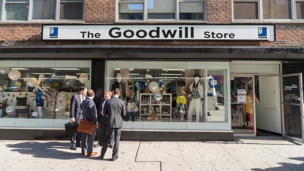 How goodwill and 2nd time around are rebranding for for High end thrift stores nyc