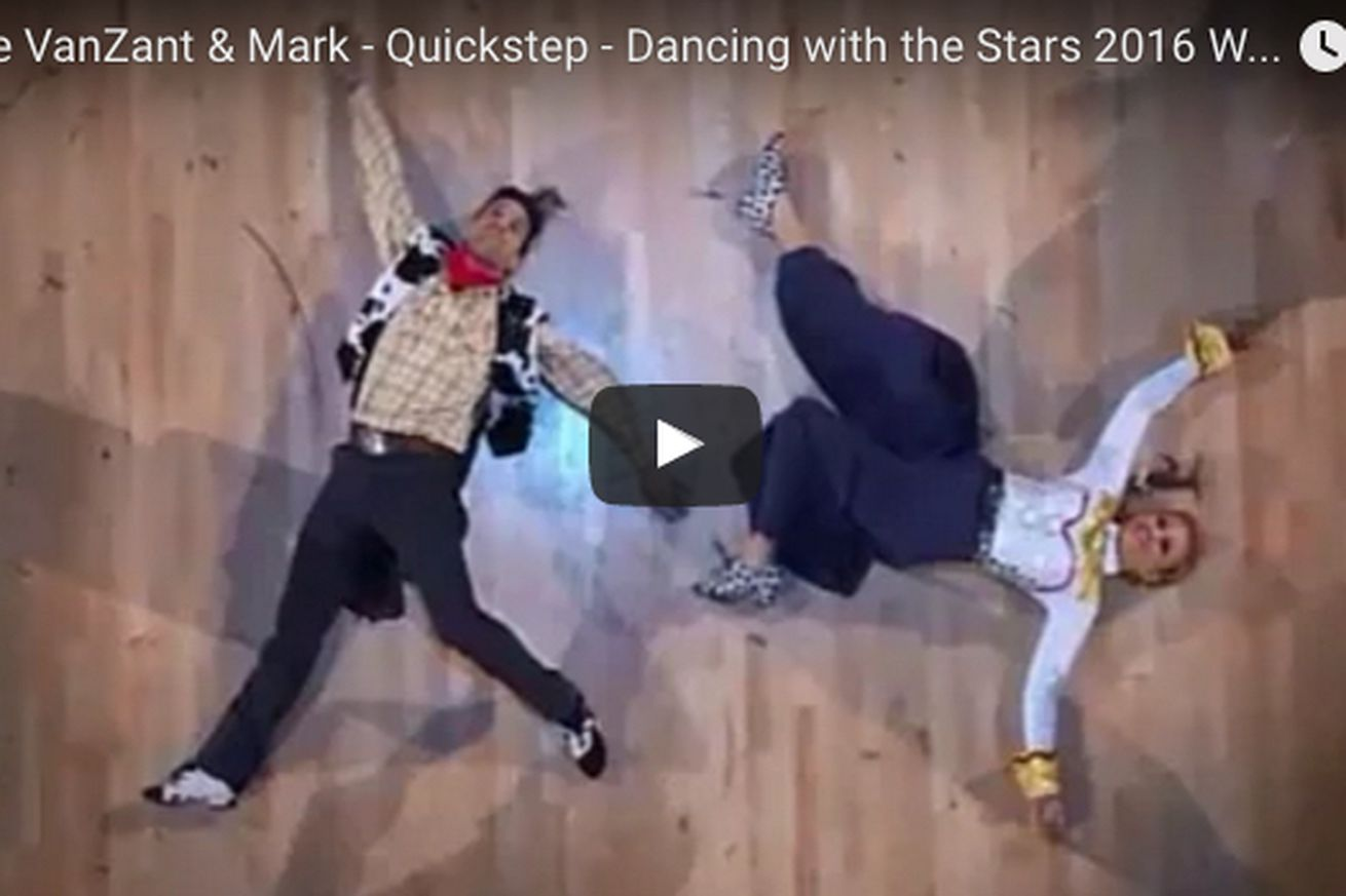 Dancing with the Stars video: Watch Paige VanZants Toy Story inspired Quick Step