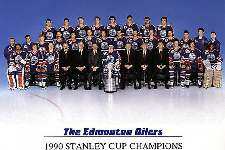 Oilers 1990 Stanley Cup
