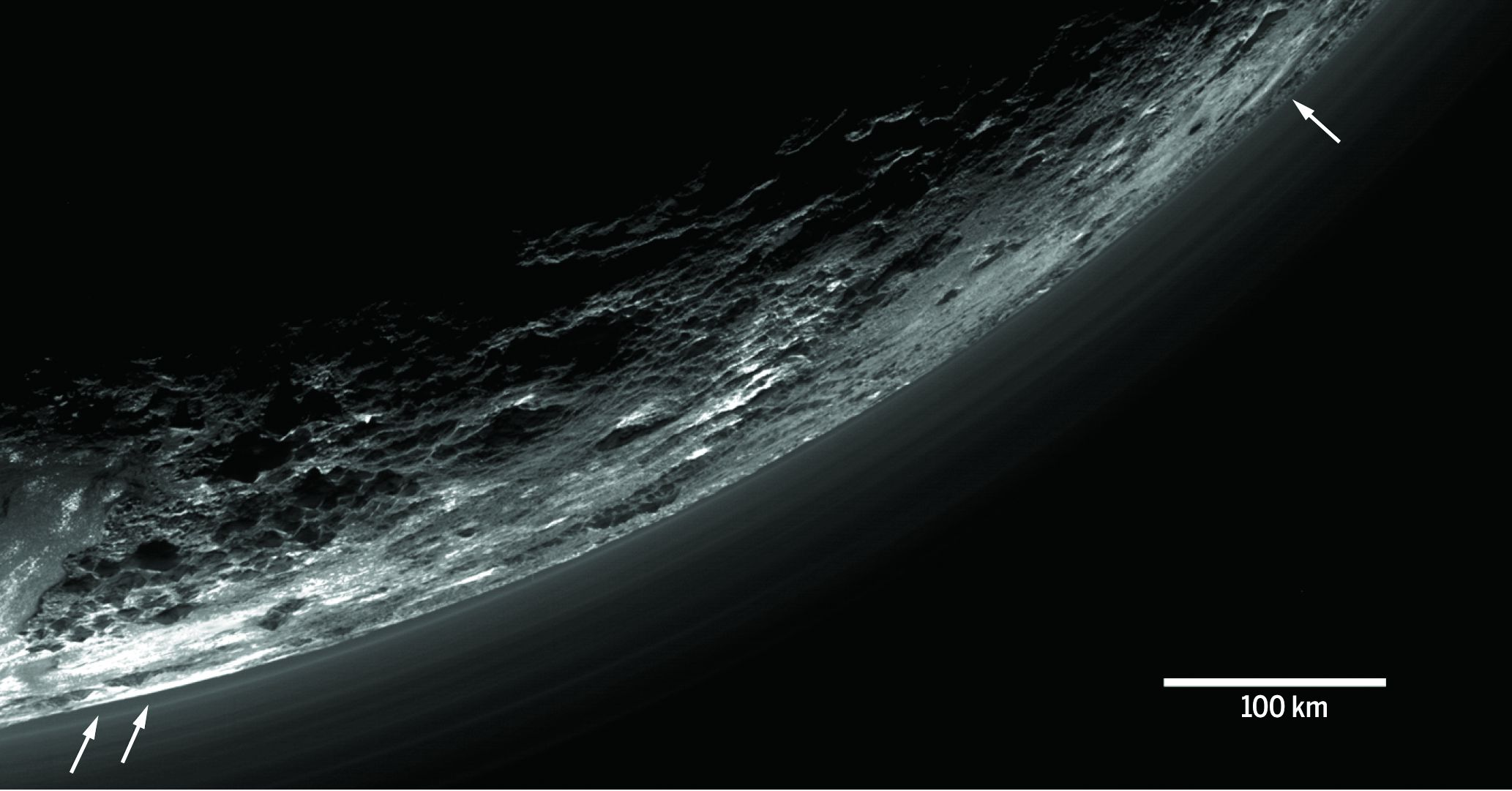 cold is pluto planet surface - photo #19
