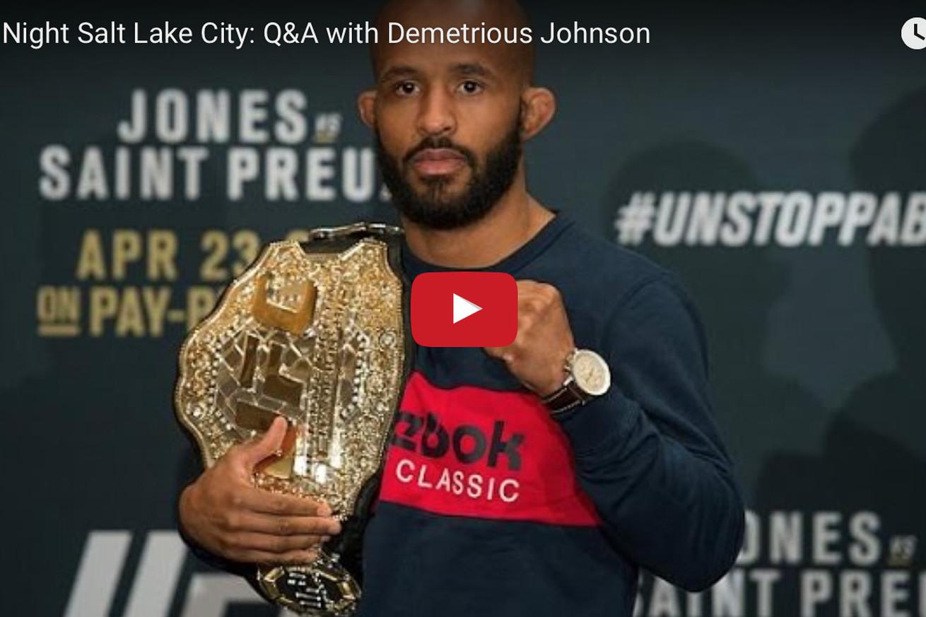 community news, Live! Demetrious Johnson fan Q&A video from UFC Fight Night 92 weigh ins