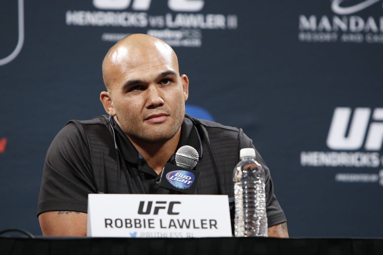 UFC 201 Top 5 Media Day Moments for Lawler vs Woodley in Atlanta