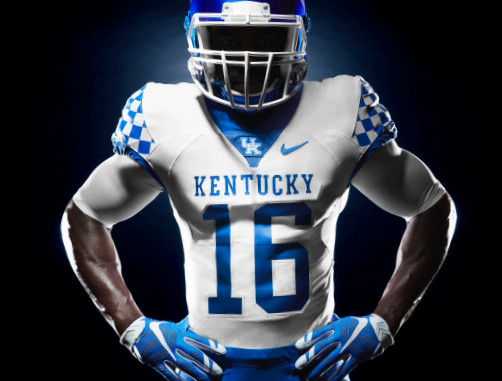 Kentucky Basketball And Football Getting New Uniforms: The New Kentucky Wildcats Logo Looks Like Chewbacca Mated
