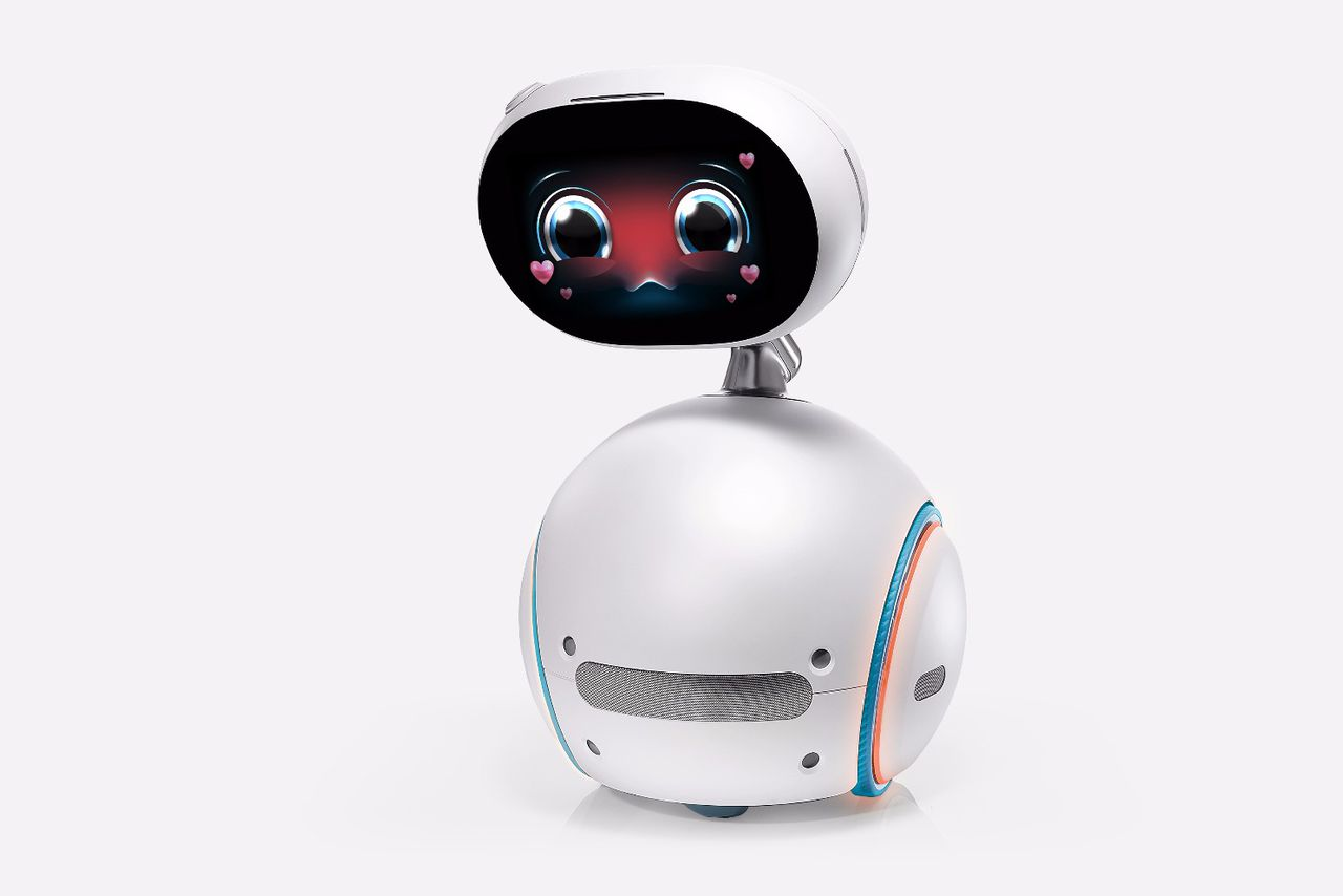 the asus zenbo is a ridiculous home robot for 599 the verge. Black Bedroom Furniture Sets. Home Design Ideas