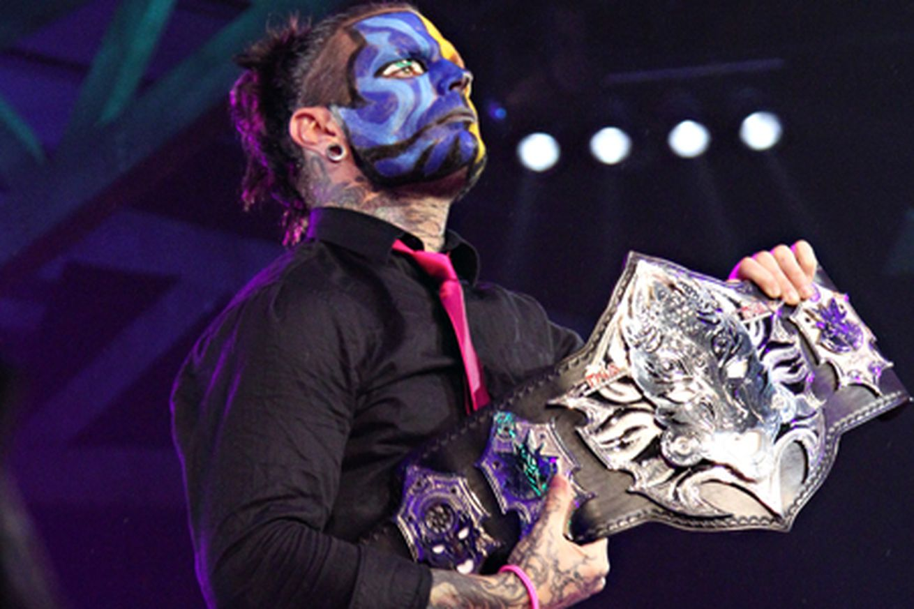TNA: Jeff Hardy brings back the ugliest title belt in the history of ...
