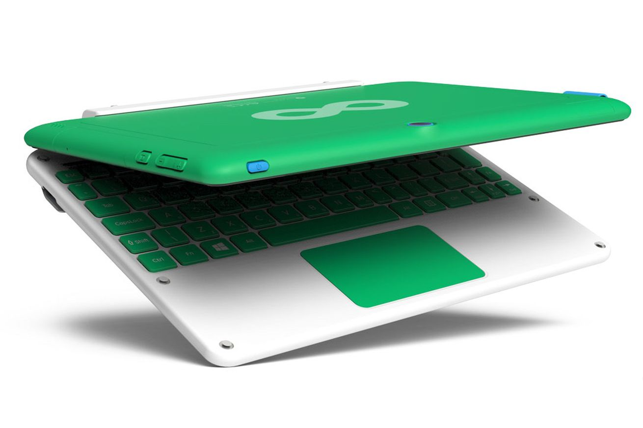 Infinity:One is OLPC XO's bigger, more responsible sibling