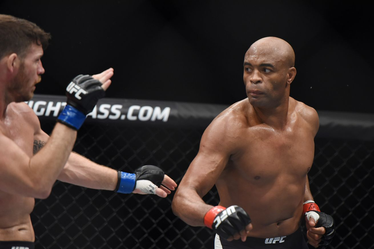 Anderson Silva says he hasnt trained in a few months before taking short notice UFC 200 fight with Daniel Cormier