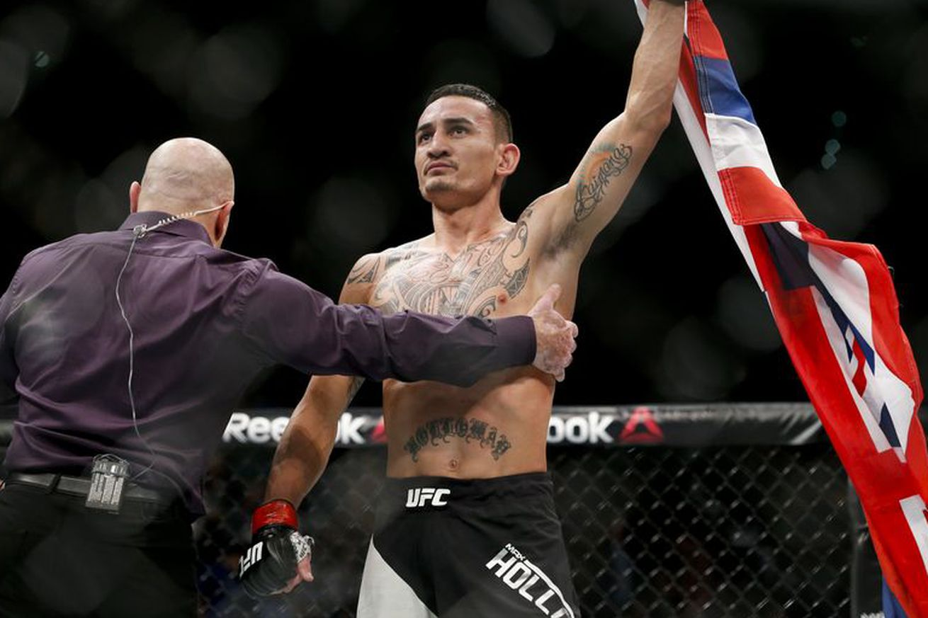 Max Holloway is cool with Conor McGregor jumping weight classes    on one condition