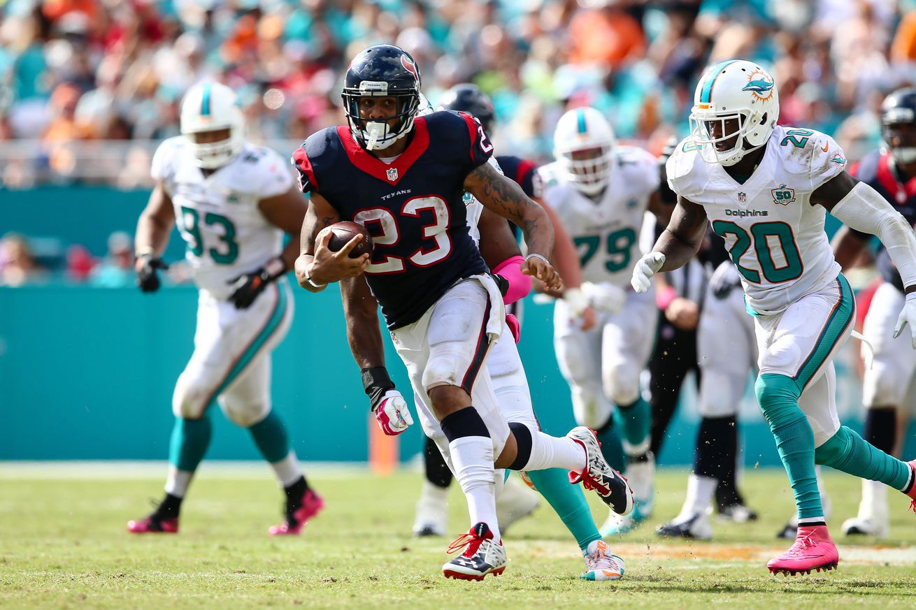 Arian Foster: 'I probably need another month'