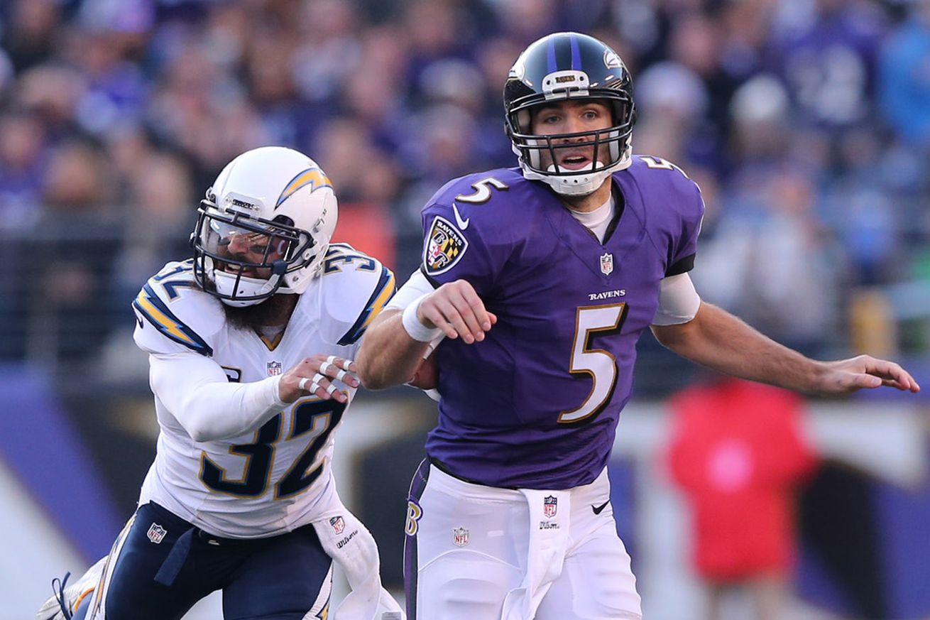 Ravens Have Signed Former Chargers Safety Eric Weddle To A Four