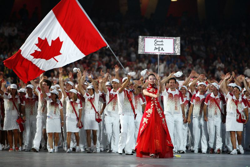 Canada at the Olympics.