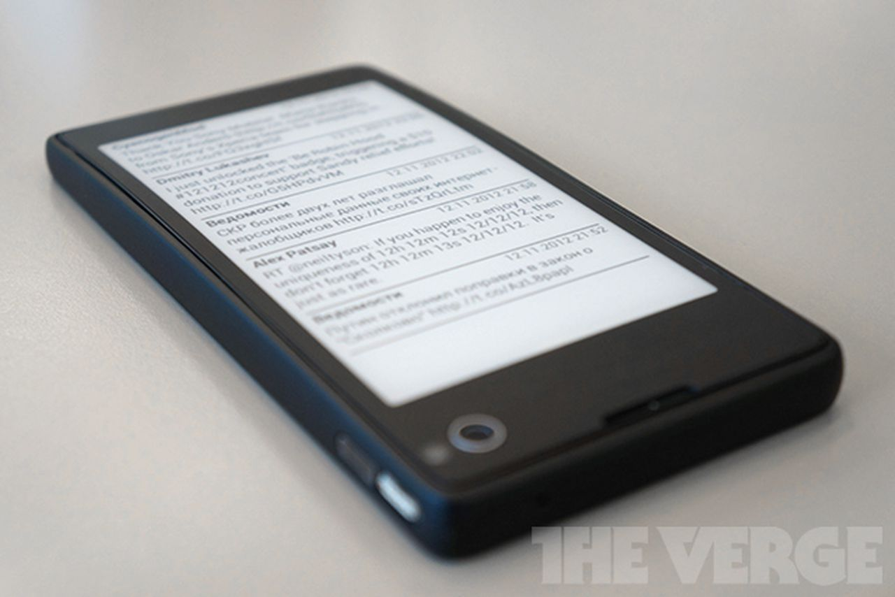 Russian YotaPhone aims to reinvent the smartphone with ...