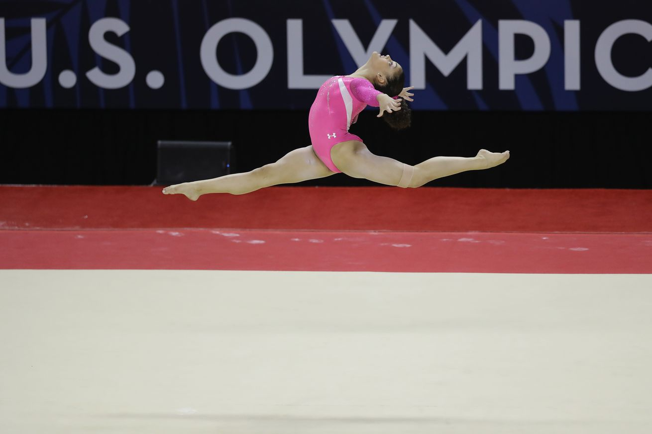 Five women named to U.S. Olympic gymnastics team