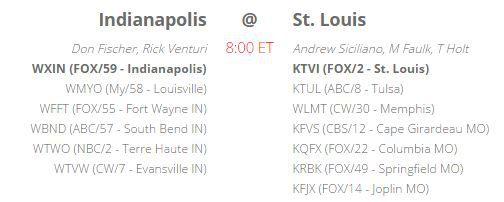 week 3 broadcast info