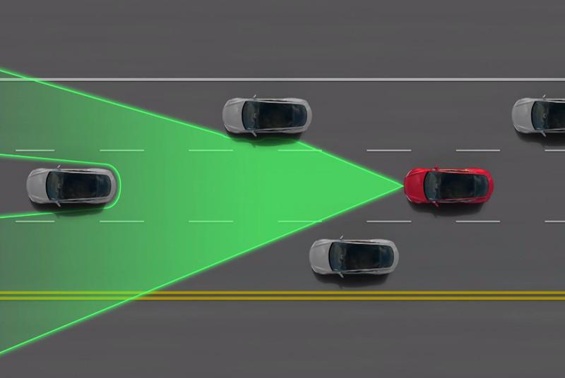 Tesla na dálnici