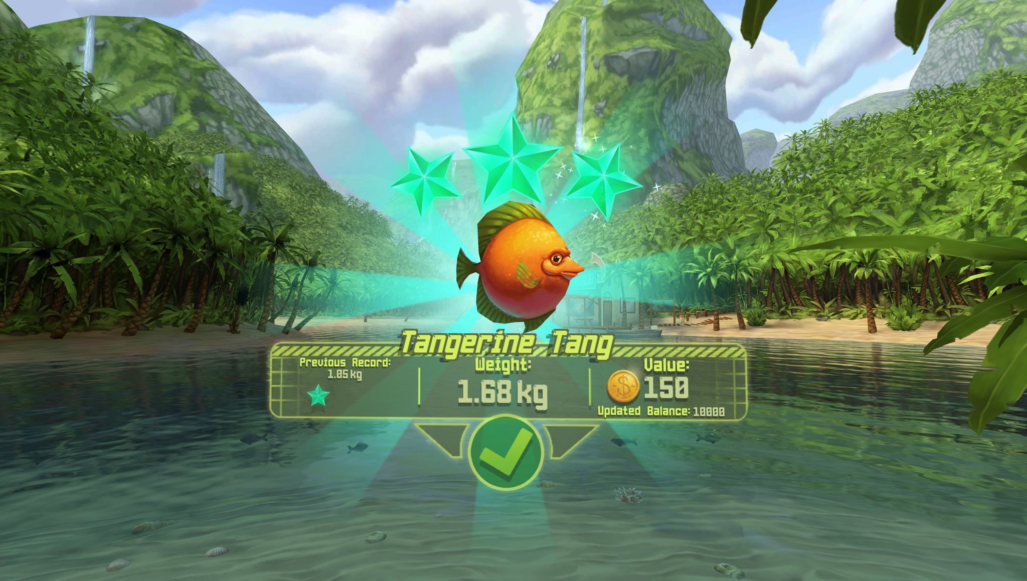 This colorful fishing game is a perfect entry to virtual for The fish game