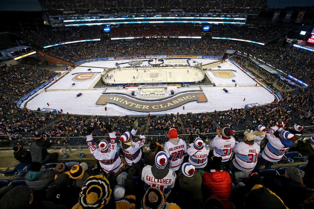 Full schedule for 2016-2017 NHL outdoor games announced
