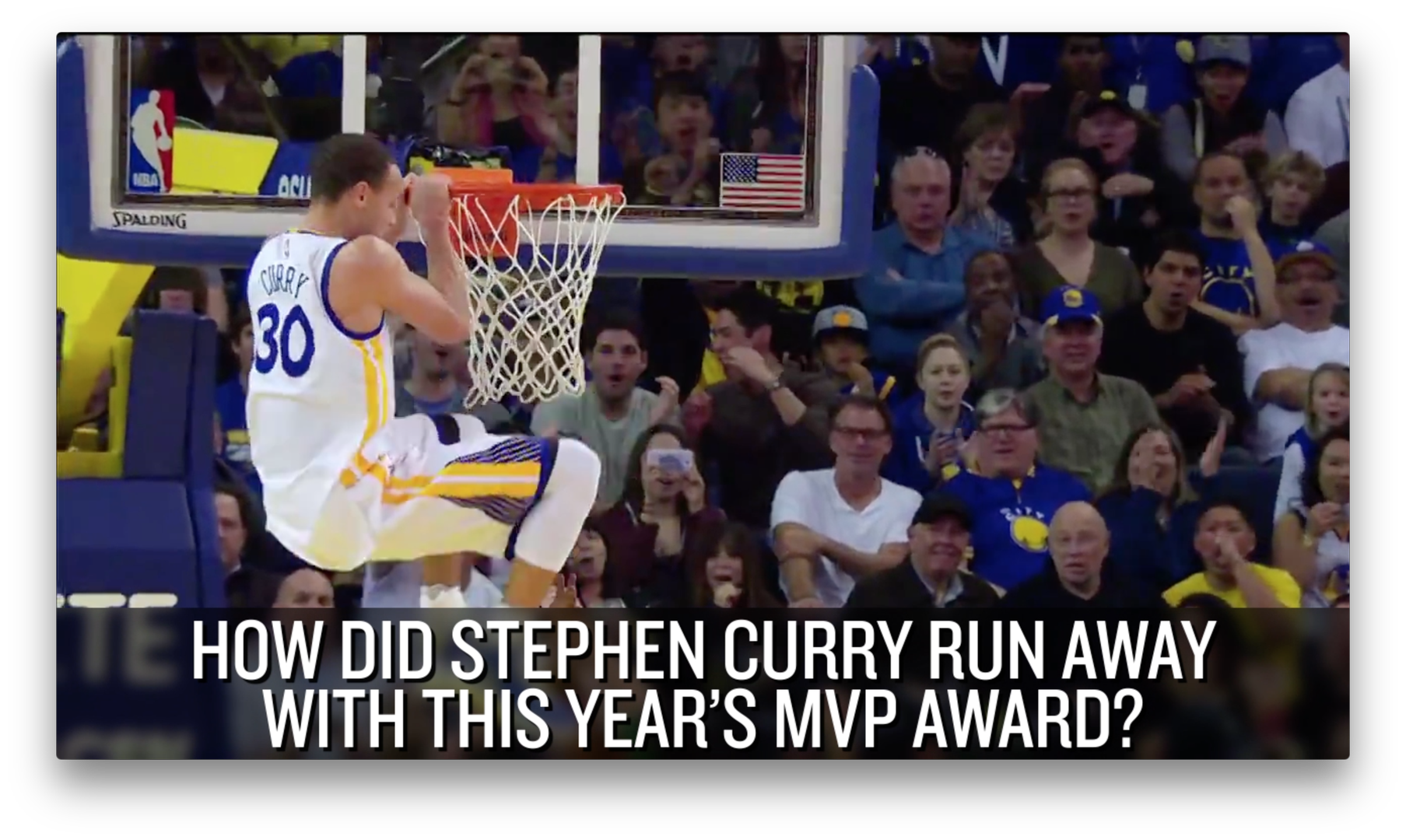 Stephen Curry becomes the NBA's first unanimous MVP winner