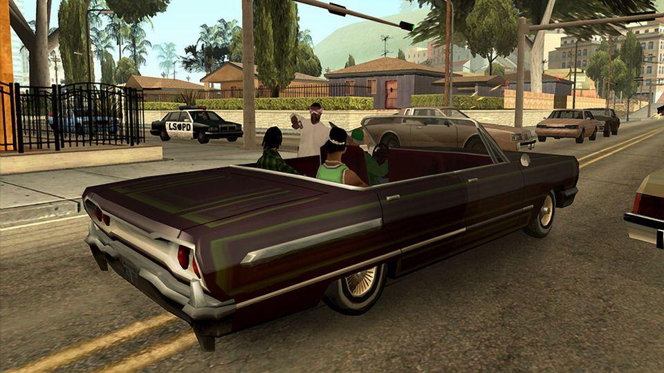 غش 999999999 v1.00: Grand theft auto: San andreas PKG ذخيرة لانهائية ماكس / اللانهائي المال على بدء -لم يكن لستار الشرطي أكثر