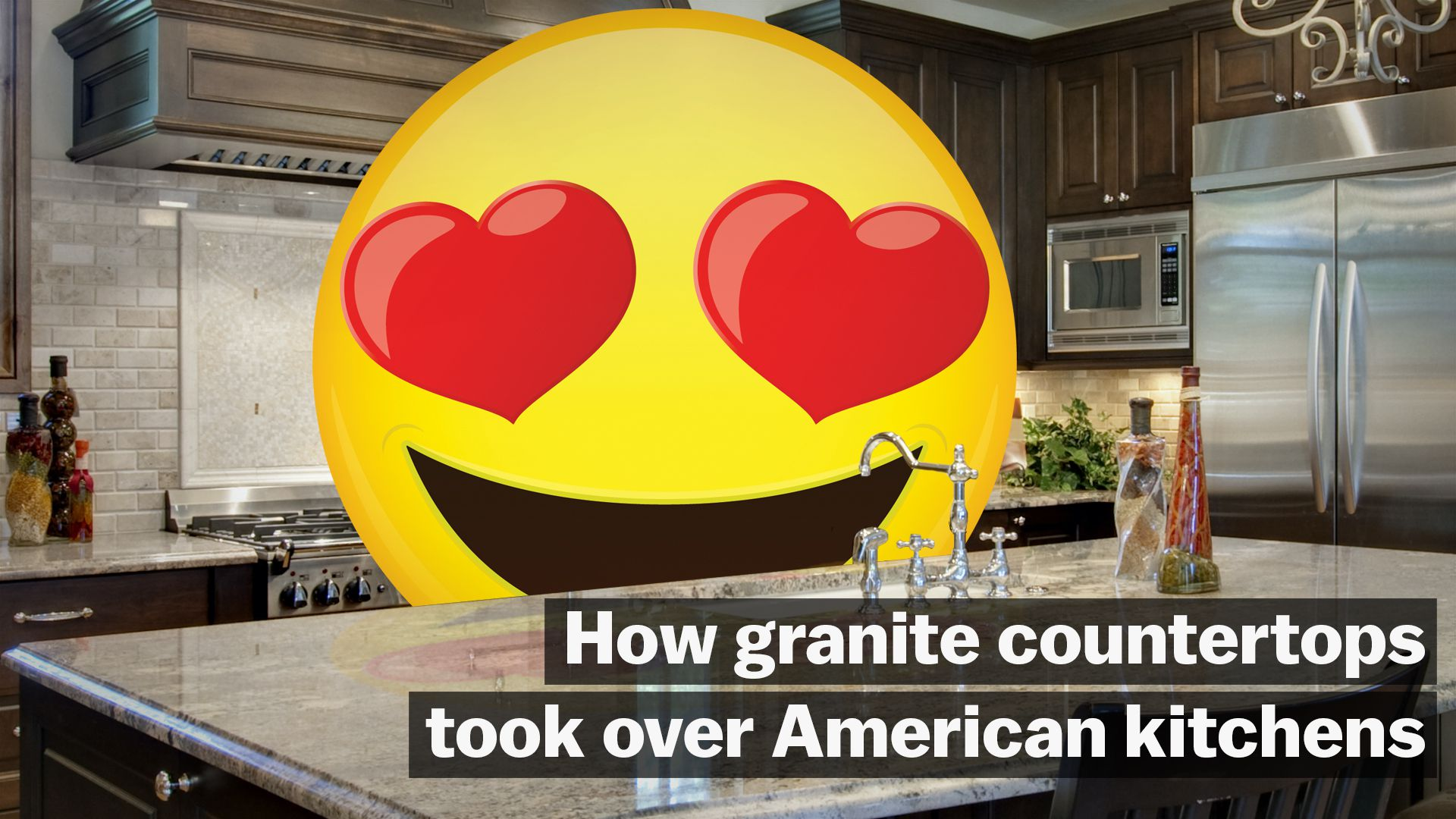 How granite countertops became an American obsession - Vox