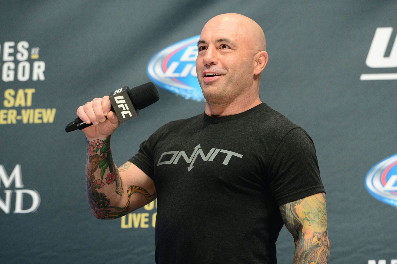 Video: Idiot shoots himself in the face, tries to pick a fight with UFC commentator Joe Rogan