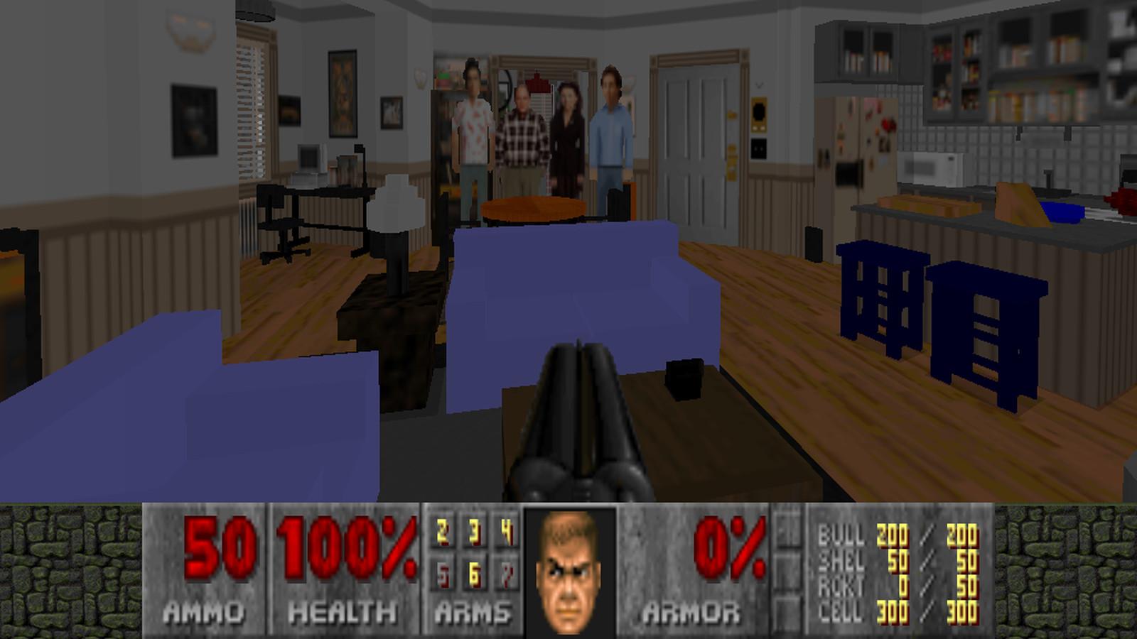 Doom 2 just got a Seinfeld mod