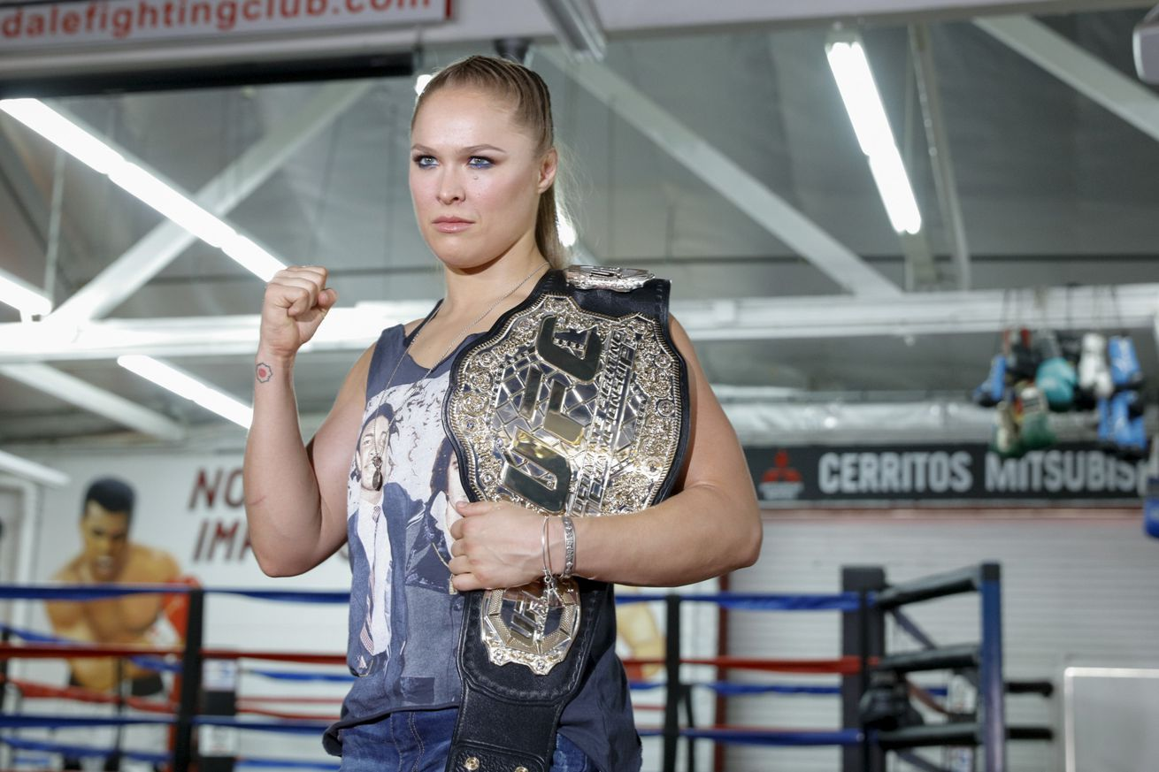 Ronda Rousey: 'I want to win my belt back'