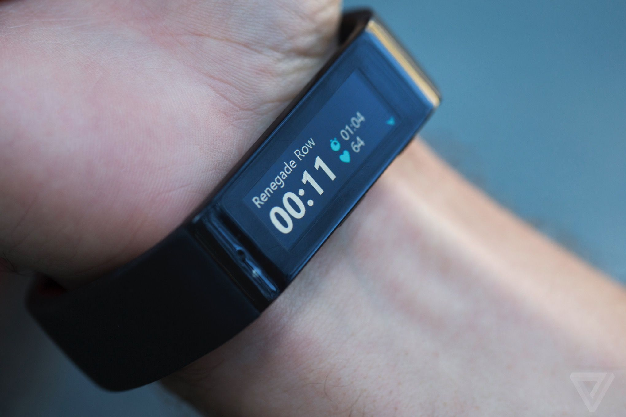Microsoft band review the verge