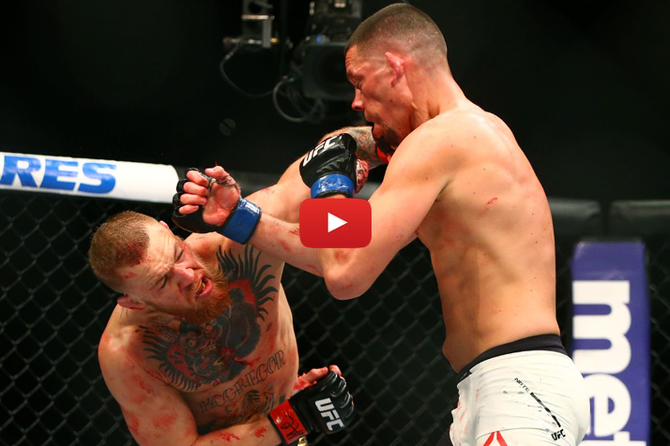 community news, Nate Diaz vs Conor McGregor 2 full fight video preview for UFC 202 PPV main event
