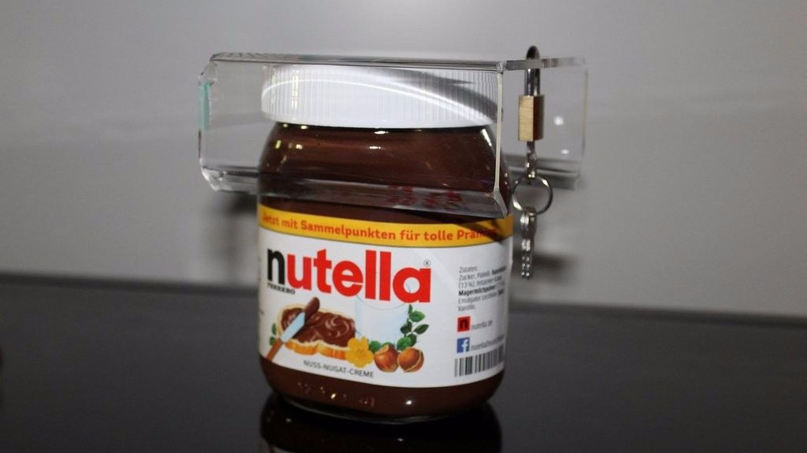 Roommates eating up all your Nutella? You need to buy this new gadget.