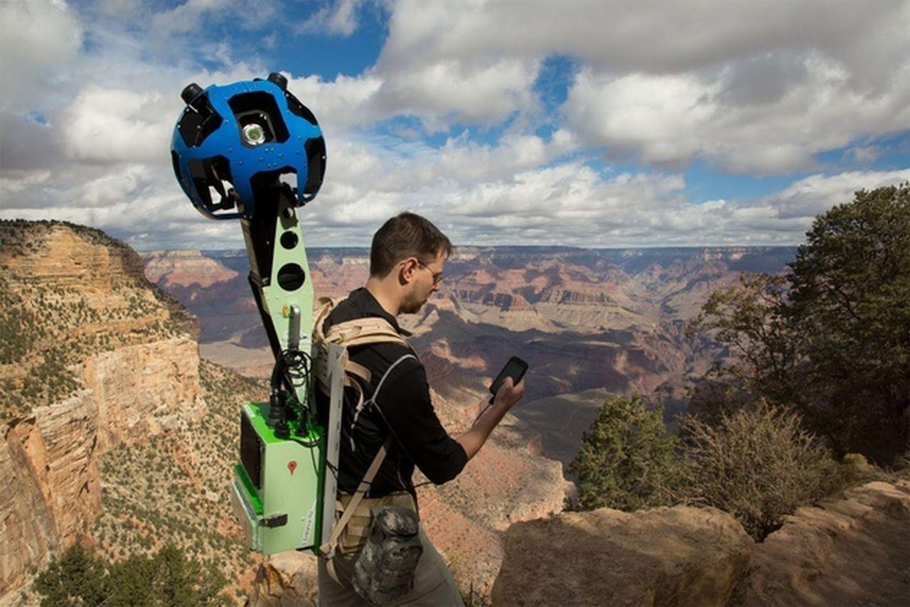 Google invites you to borrow its Trekker Street View ...