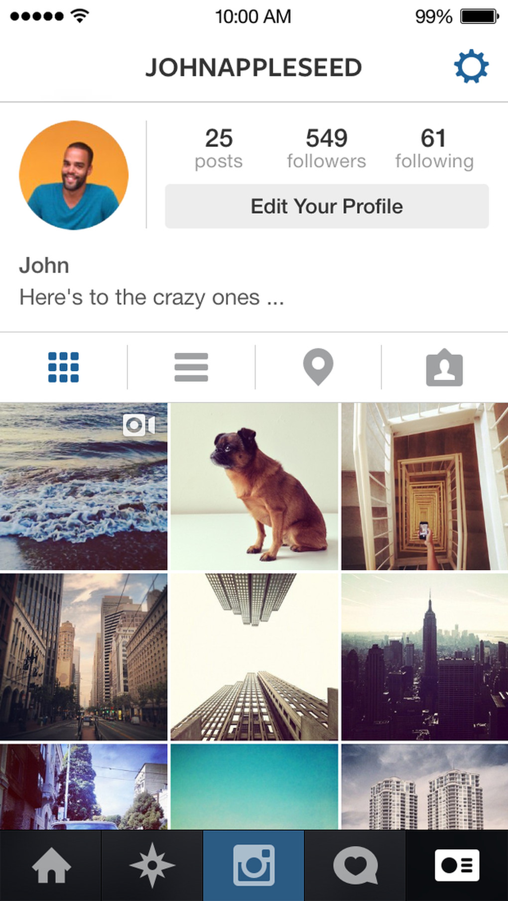 Instagram Refreshes Its App For IOS 7, But Not The Icon