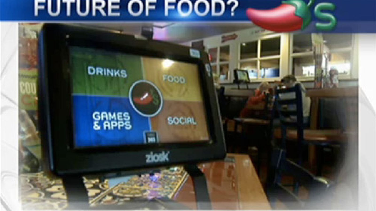 Behold The Ziosk Chili S New Tabletop Touchscreen Eater