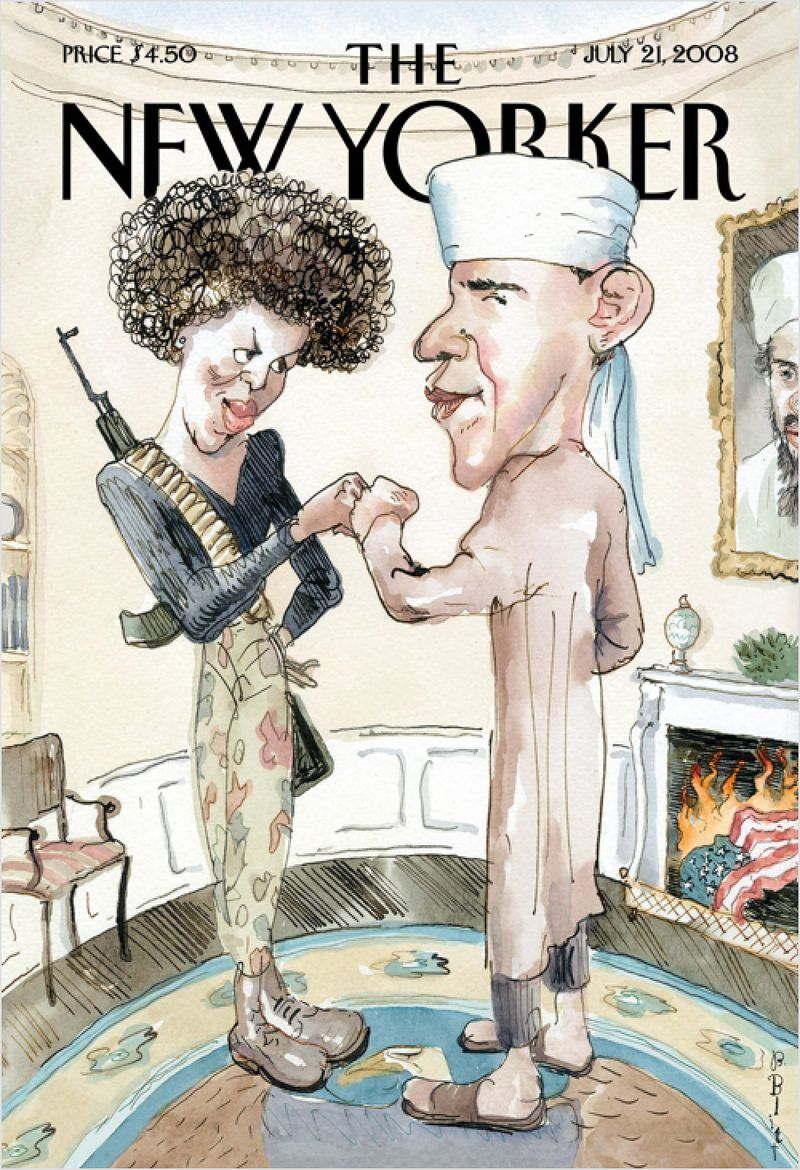 A 2008 cover of the New Yorker (New Yorker)