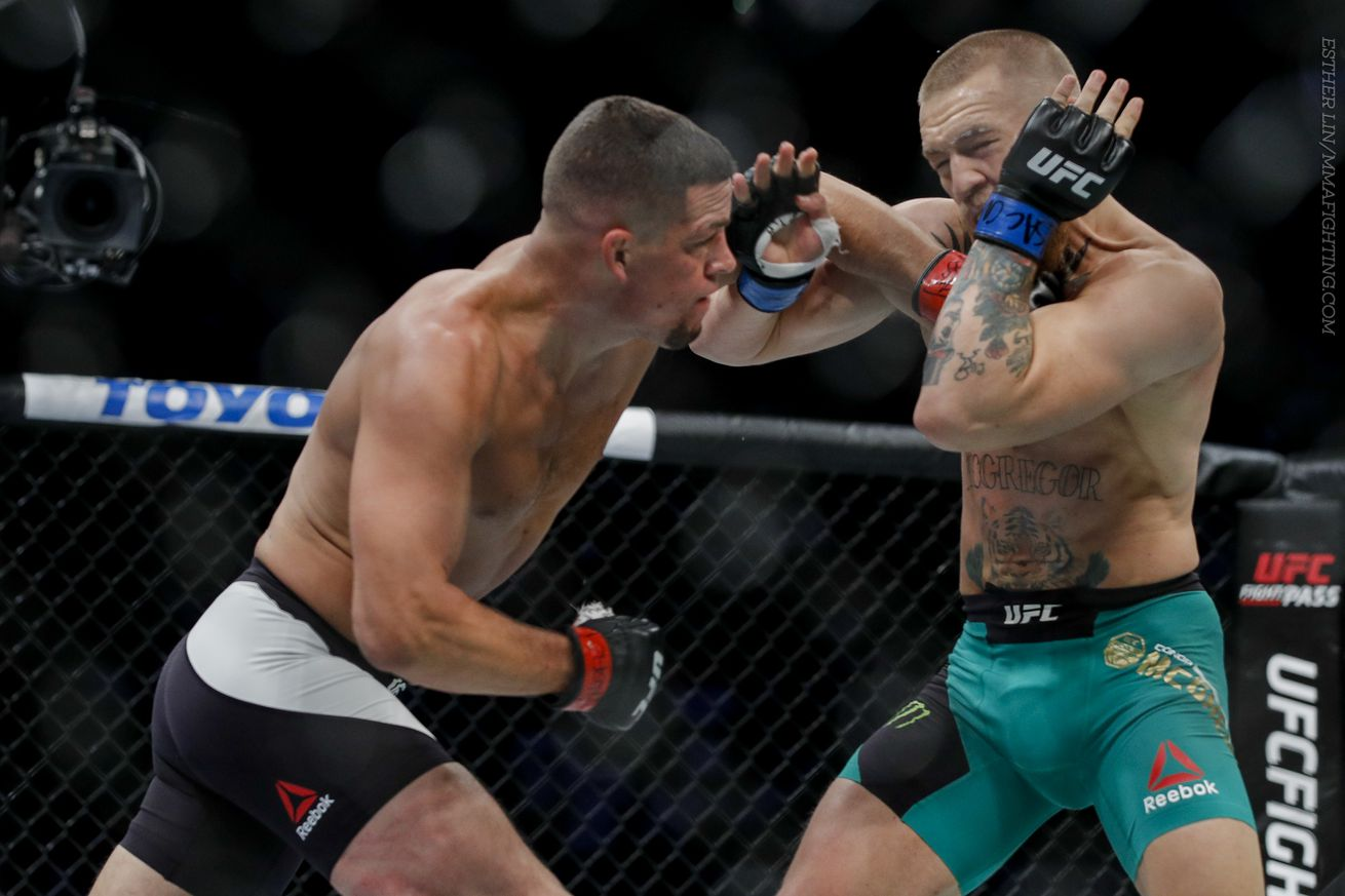 John Kavanagh was 'slightly terrified' watching Nate Diaz absorb Conor McGregor's blows