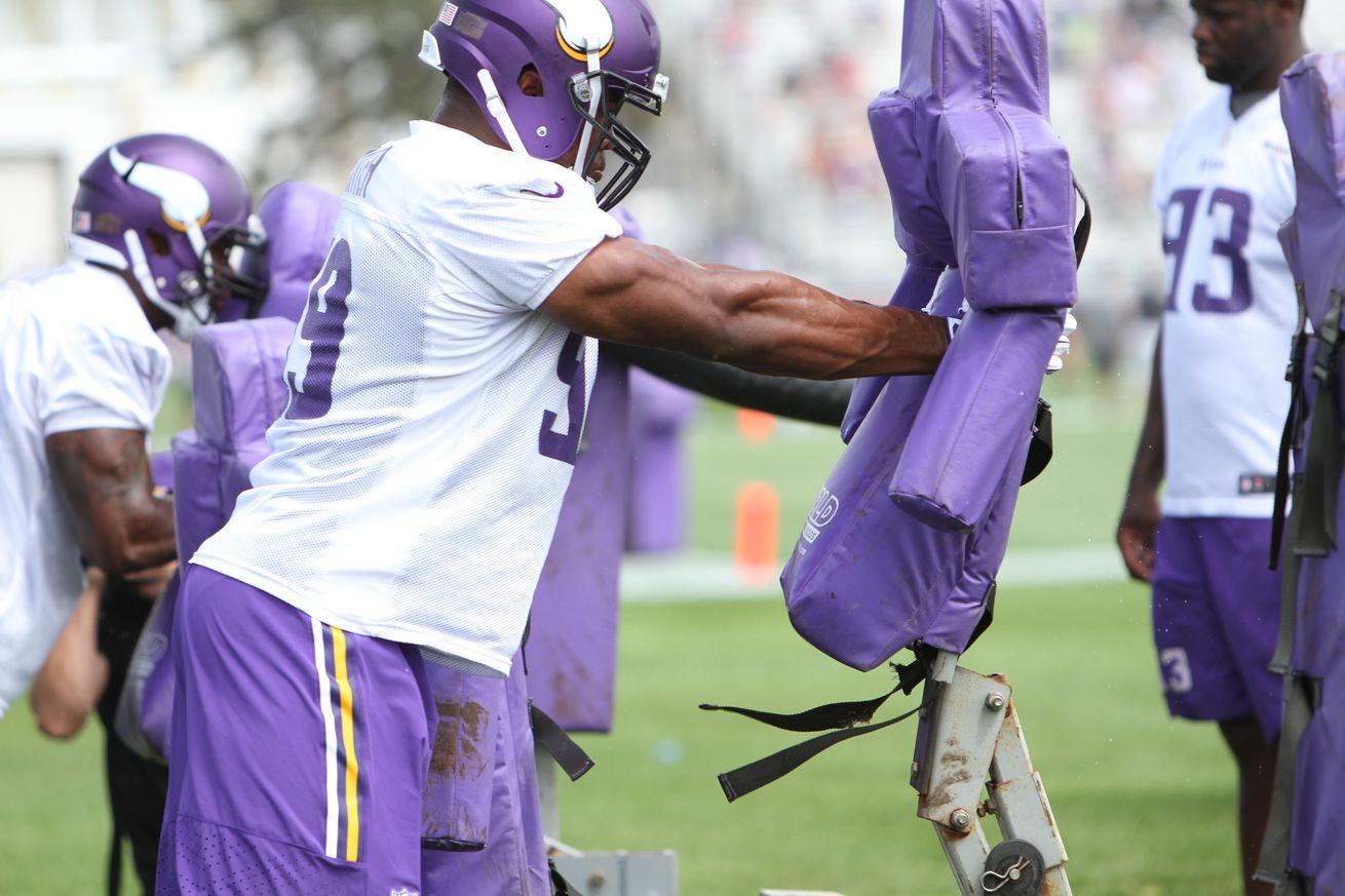Jerseys NFL Wholesale - Minnesota Vikings Training Camp Day Three: AM News and Notes ...