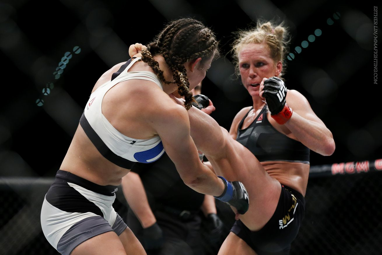 community news, Holly Holm open to rematch either Ronda Rousey or Miesha Tate, but prefers to 'avenge the loss'