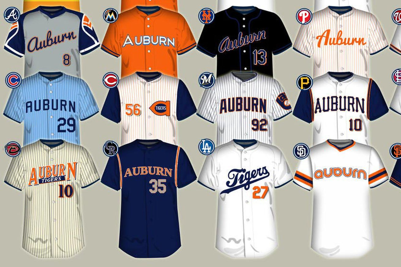 Redesigning The Auburn Baseball Uniform
