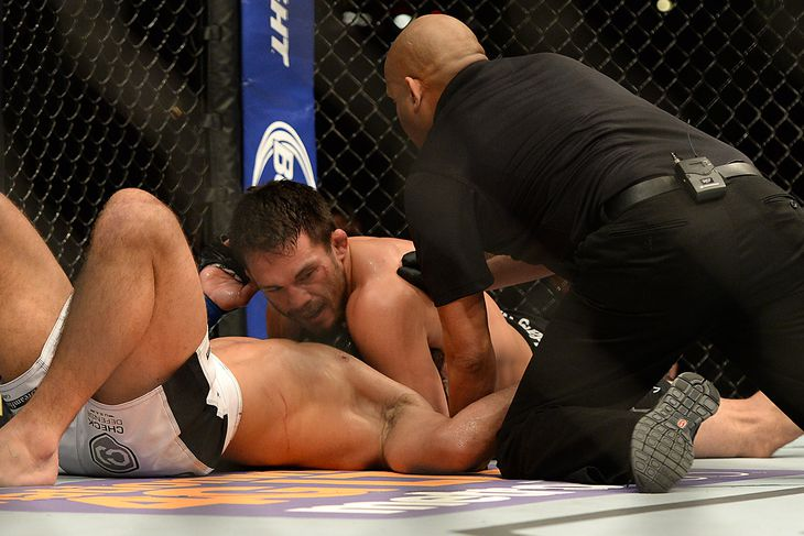UFC 184 results: Jake Ellenberger scores nifty submission win over ...