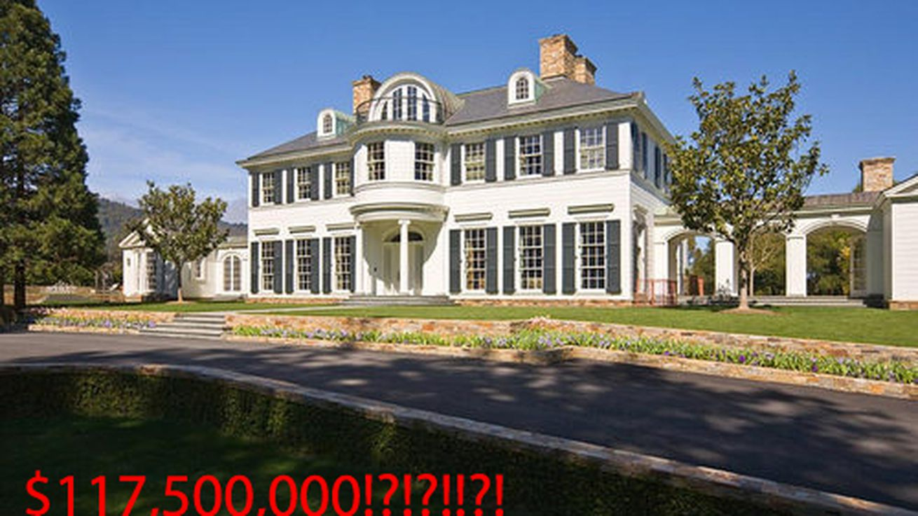 Mapping the 25 most expensive homes for sale in san for Most expensive house for sale